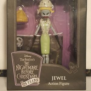 JEWEL WITH HAT nightmare before xmas action figure